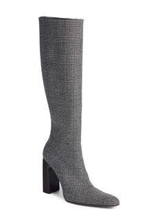 Balenciaga Prince of Wales Knee High Boot (Women)