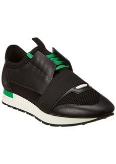 Balenciaga Race Runner Leather Sneaker