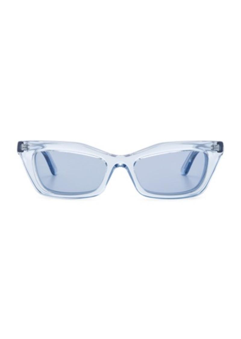Balenciaga Rectangular Cat Eye Sunglasses