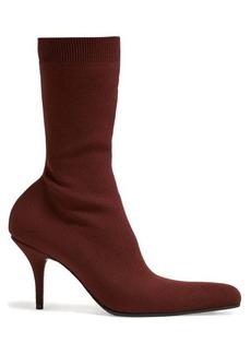 Balenciaga Round sock booties