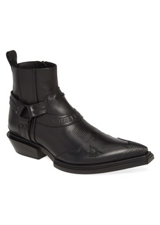 Balenciaga Santiag Zip Boot (Men)