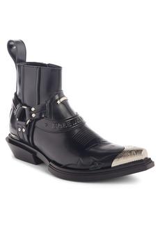 Balenciaga Santiag Harness Boot (Men)
