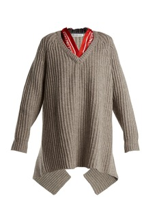 Balenciaga Scarf sweater
