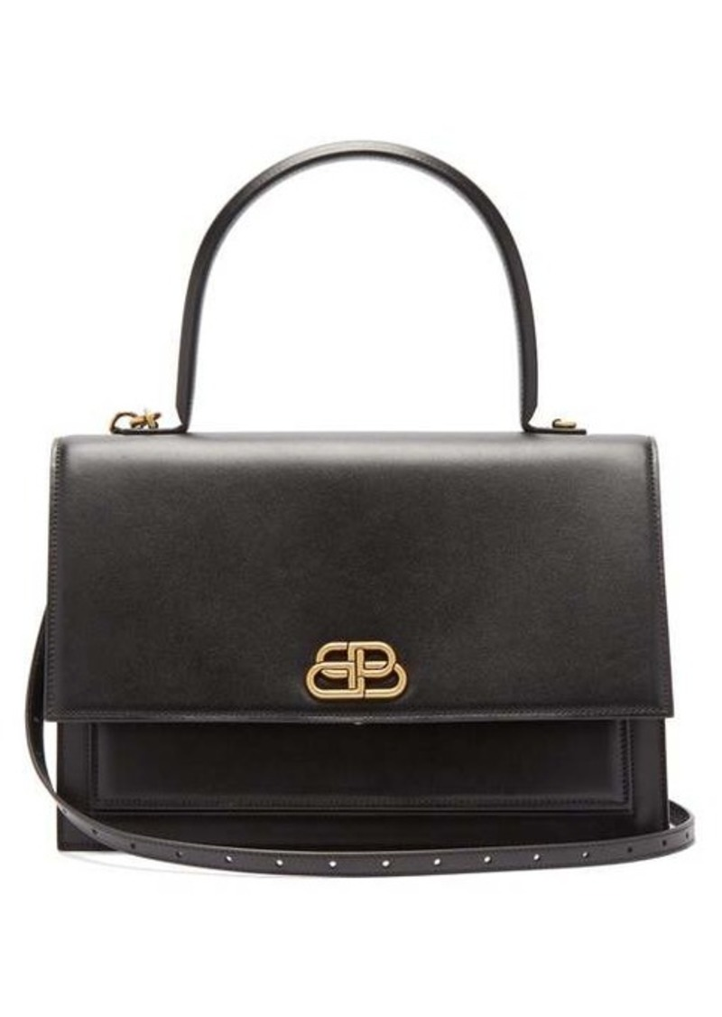 Balenciaga Sharp L leather bag