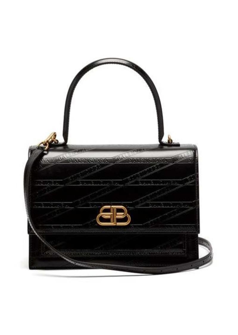 Balenciaga Sharp M leather bag