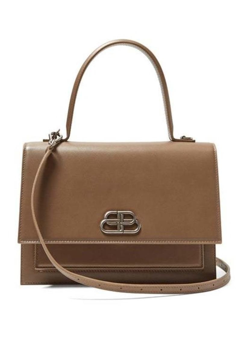 Balenciaga Sharp M leather cross-body bag