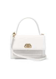 Balenciaga Sharp XS lizard-effect leather cross-body bag