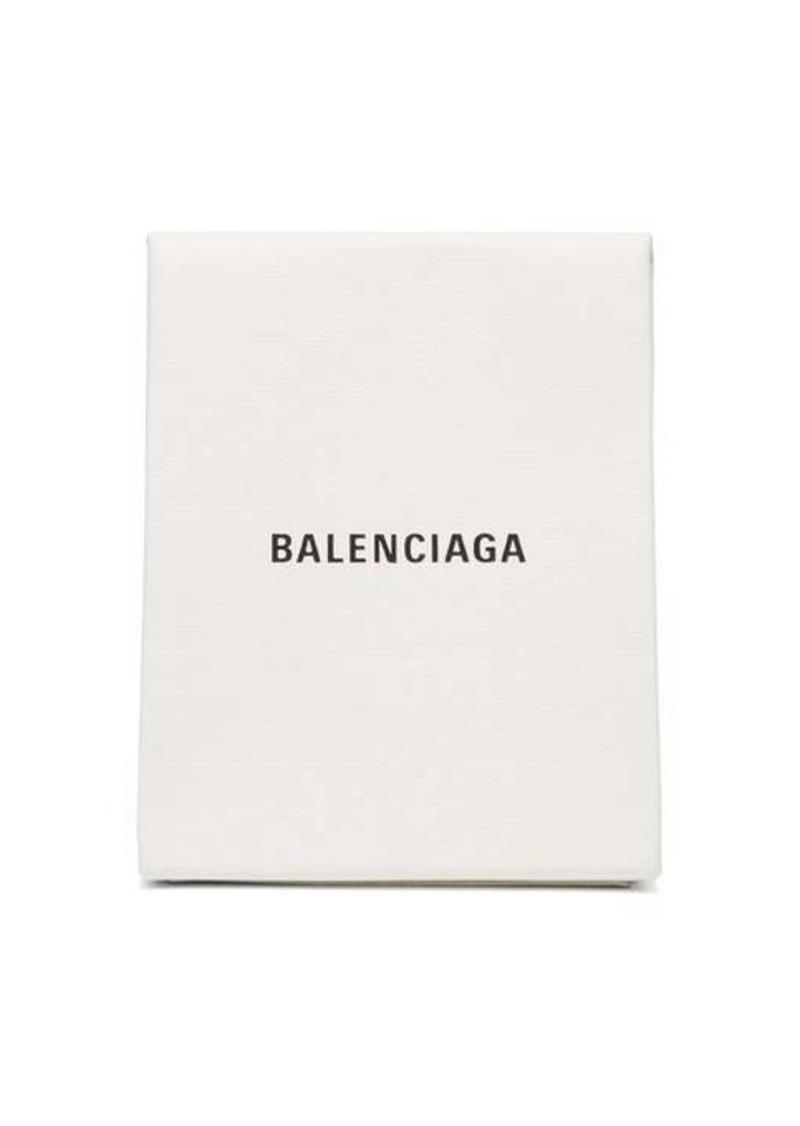 Balenciaga Shopping leather envelope clutch