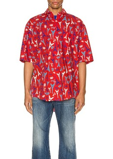 Balenciaga Short Sleeve Shirt