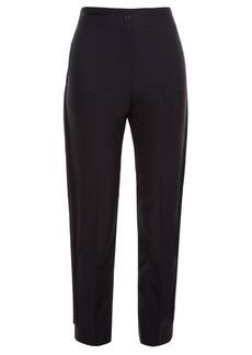 Balenciaga Side-seam tuxedo trousers