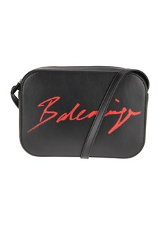 Balenciaga Signature Logo Shoulder Bag