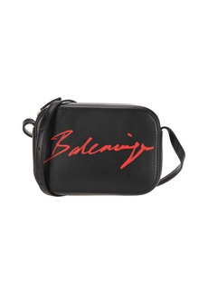 Balenciaga Signature Print Camera Bag
