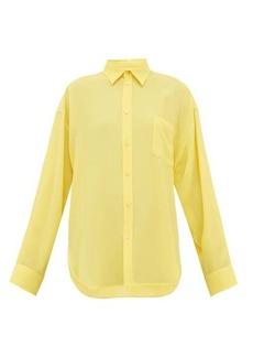 Balenciaga Silk-crepe blouse