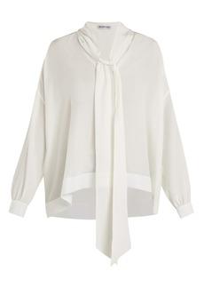 Balenciaga Silk crepe de Chine blouse