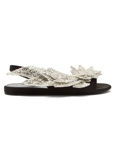 Balenciaga Slash flat sandals