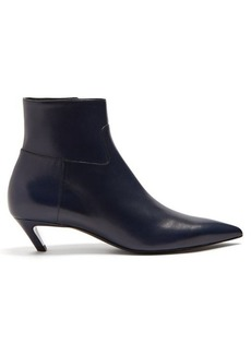 Balenciaga Slash leather bootie