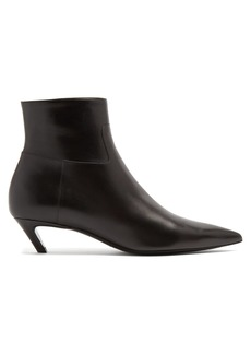 Balenciaga Slash leather bootie