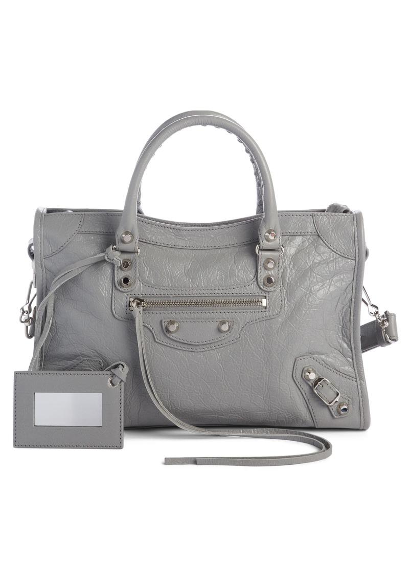 a7b0f5766f0b Balenciaga Balenciaga Small Classic Metallic Edge City Leather Tote ...