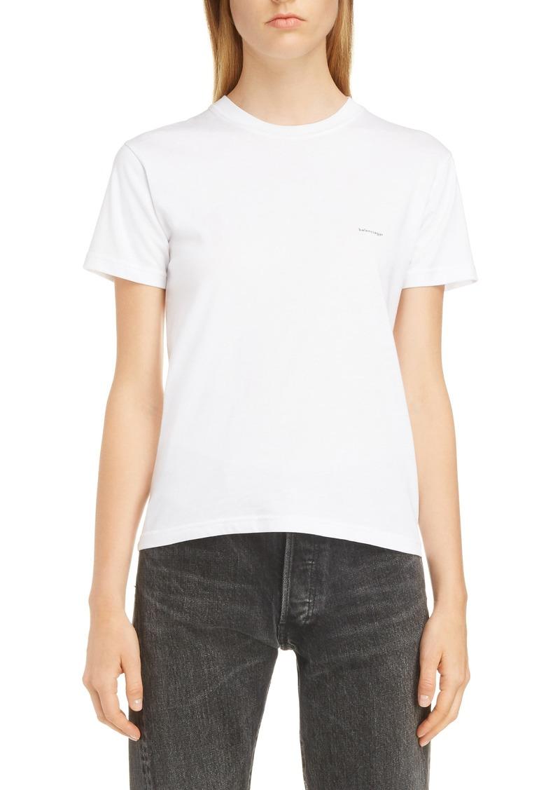 42e7ad1a59ce Balenciaga Balenciaga Small Logo Tee | Casual Shirts