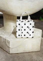 Balenciaga Bazar Shopper Small AJ Polka Dot Tote Bag leiOo0IS9q