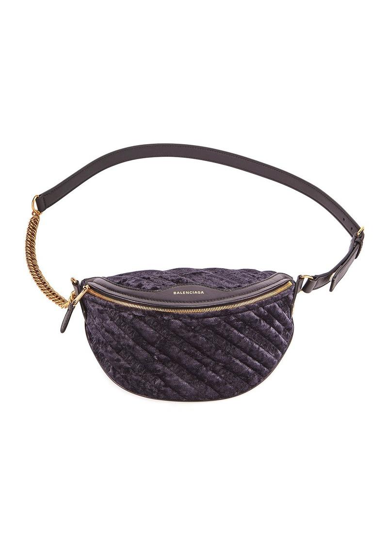 Balenciaga Souvenir XXS AJ Logo Belt Bag