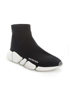 Balenciaga Speed 2.0 Transparent Sole Sock Sneaker (Women)