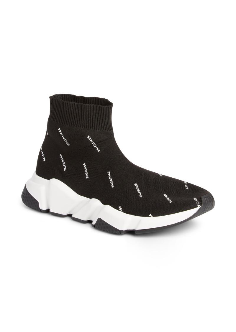 Balenciaga Speed Logo Sock Sneaker (Women)