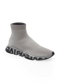 Balenciaga Speed LT Graffiti Knit Sneaker (Men)