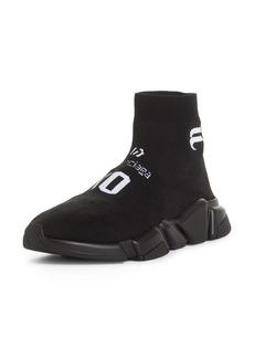Balenciaga Speed LT Soccer Sponsor Logo Sock Sneaker (Men)