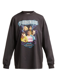 Balenciaga Speedhunters cotton long-sleeve T-shirt