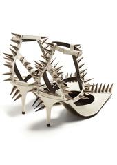 Balenciaga Spike-embellished leather pumps