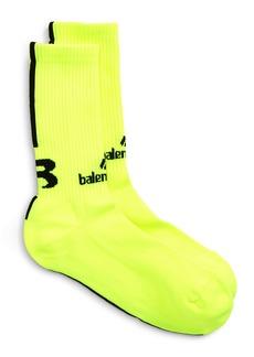 Balenciaga Sponsor Logo Soccer Socks