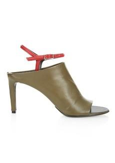 Balenciaga Spy leather sandals