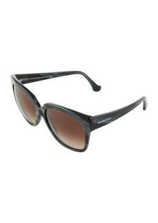 Balenciaga Square Acetate Sunglasses