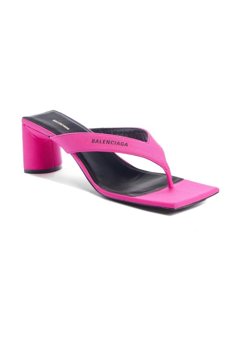 Balenciaga Square Toe Sandal (Women)