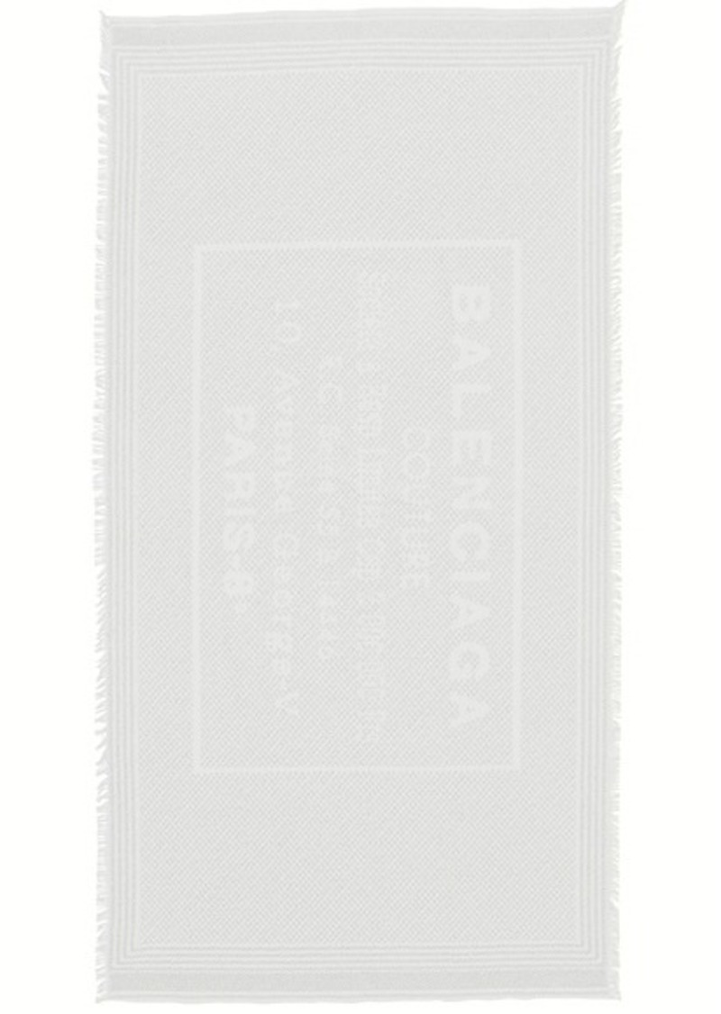 Balenciaga Stamp Terry Towel