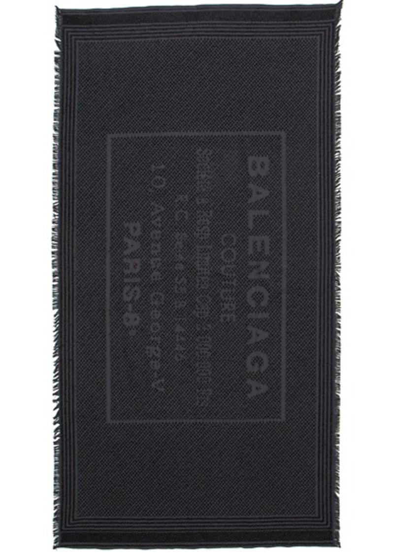 Balenciaga Stamp Terry Towel