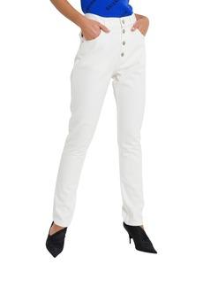 Balenciaga Straight Leg Japanese Denim Trousers