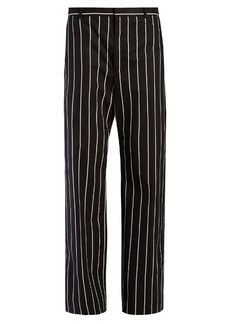 Balenciaga Straight-leg striped trousers
