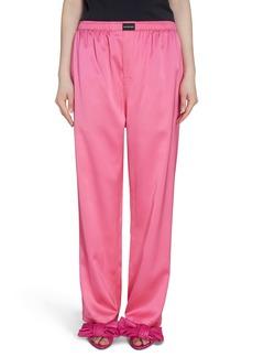 Balenciaga Stretch Satin Pants