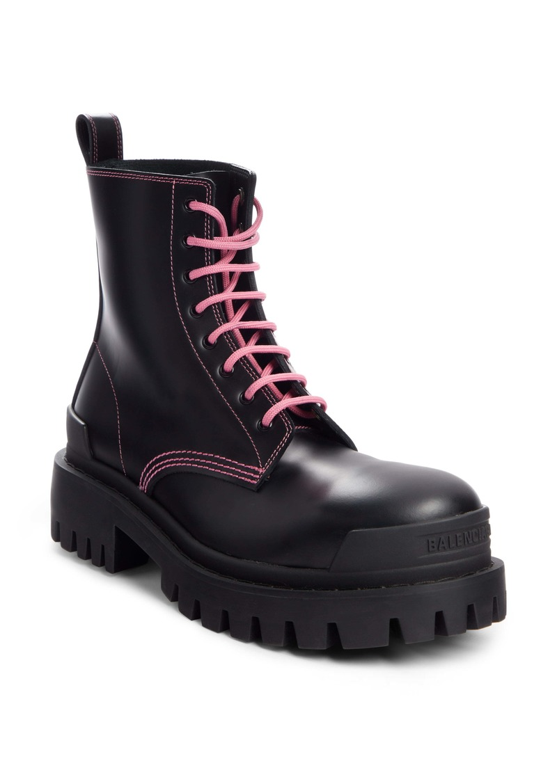 Balenciaga Strike Combat Boot (Women)