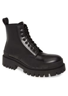 Balenciaga Strike Plain Toe Boot (Men)