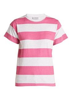 Balenciaga Striped cotton T-shirt