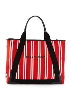 Balenciaga Striped Shopper Tote