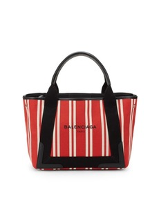 Balenciaga Striped Tote