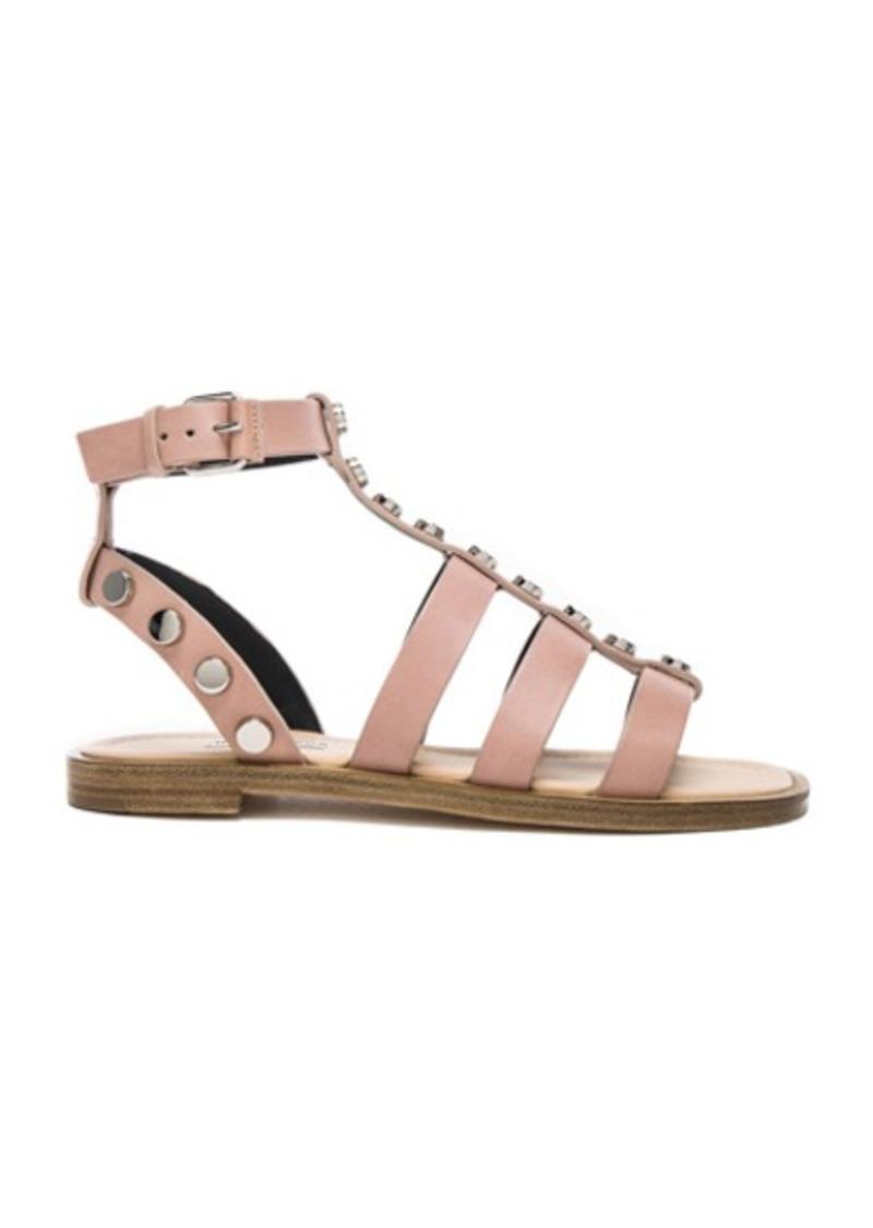 Balenciaga Studded Leather Gladiator Sandals