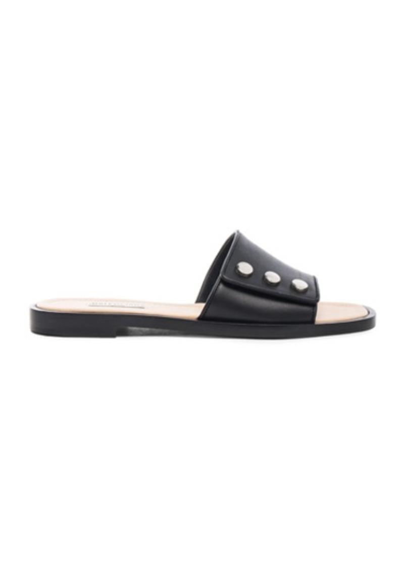 Balenciaga Studded Slide Sandals