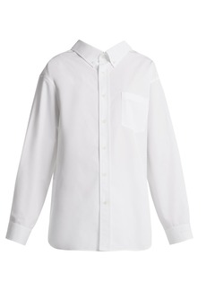 Balenciaga Swing cotton shirt