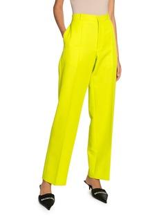 Balenciaga Tech Twill Cropped Pants