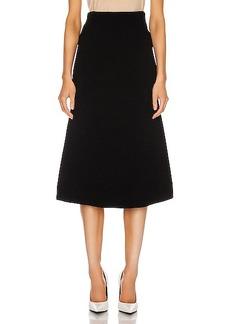 Balenciaga Technical Knit Skirt